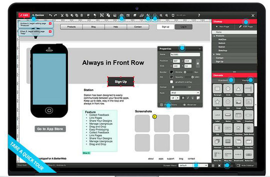 42 Mockup And Wireframing Tools For Developers 36