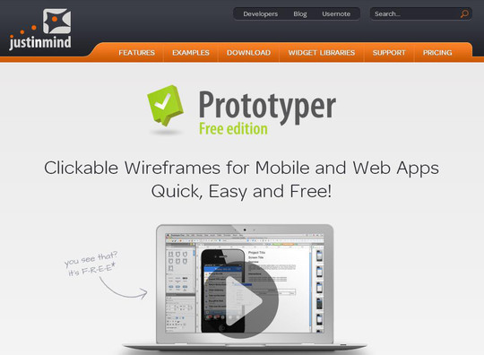 42 Mockup And Wireframing Tools For Developers 37