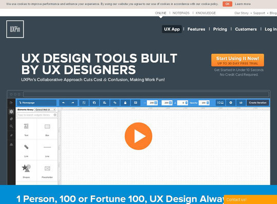 42 Mockup And Wireframing Tools For Developers 17