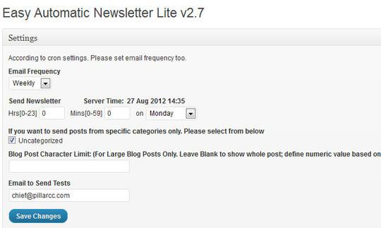 40 Free WordPress Newsletter Plugins 20