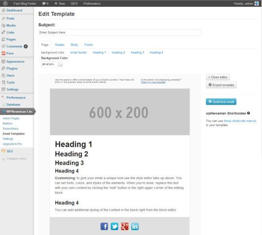 40 Free WordPress Newsletter Plugins 10