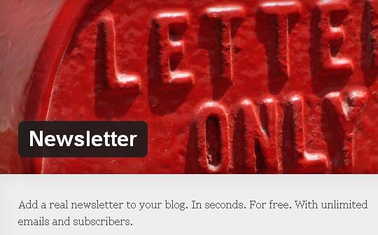 40 Free WordPress Newsletter Plugins 15
