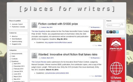 40 Useful Web Tools For Professional Writers 15