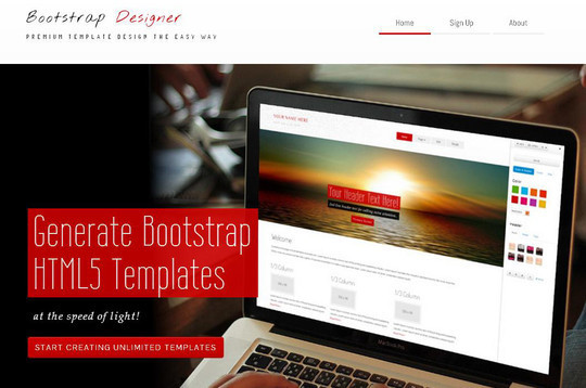 15 Best Bootstrap Design Tools 1