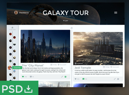 50 Fantastic And Free Web UI Kits 33