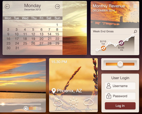 50 Fantastic And Free Web UI Kits 45