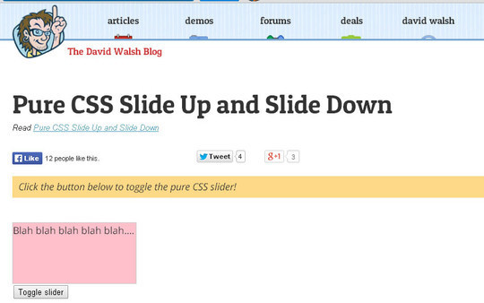 Useful And Fresh HTML5 & CSS3 Tutorials 14