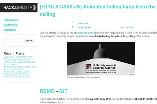 Useful And Fresh HTML5 & CSS3 Tutorials 15