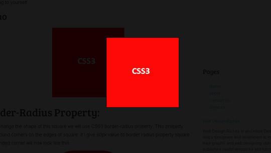 Useful And Fresh HTML5 & CSS3 Tutorials 7