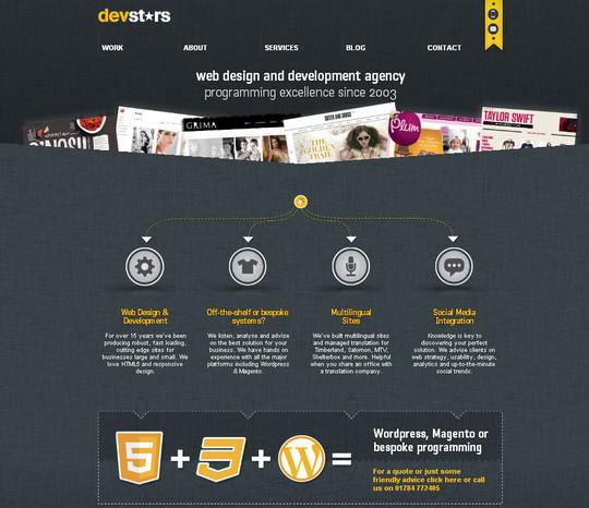 40 Original HTML5 Markup Websites 21