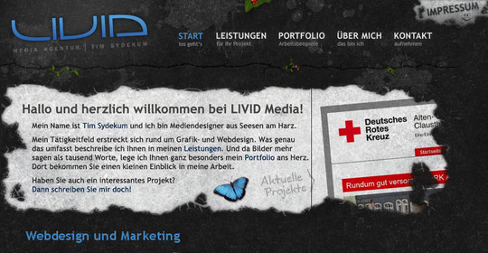40 Original HTML5 Markup Websites 22