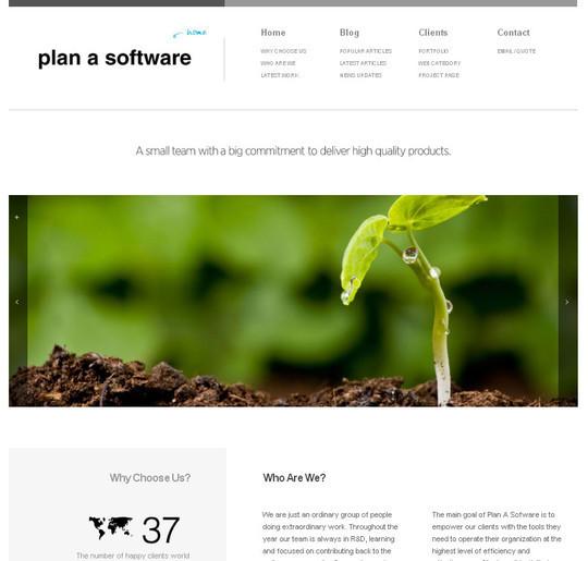 40 Original HTML5 Markup Websites 14