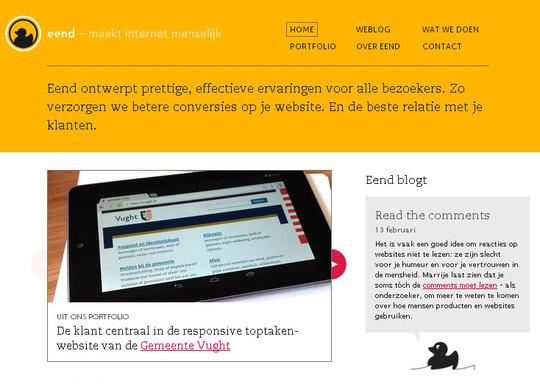 40 Original HTML5 Markup Websites 38