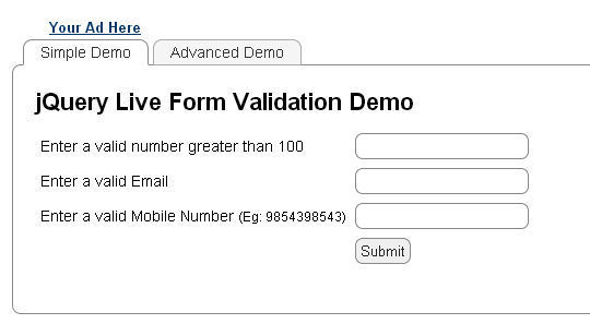 17 jQuery Plugins For Form Functionality & Validation 3