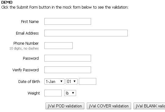 17 jQuery Plugins For Form Functionality & Validation 5