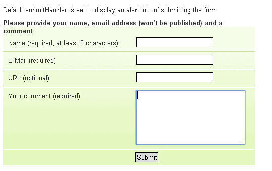 17 jQuery Plugins For Form Functionality & Validation 12