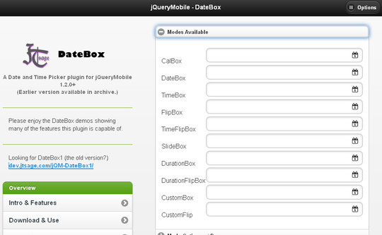 14 jQuery Mobile Plugins For Mobile Devices 5
