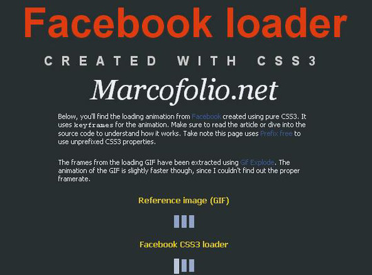 15 Creative Loading Effects For Your Website 3