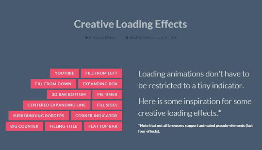 15 Creative Loading Effects For Your Website 10