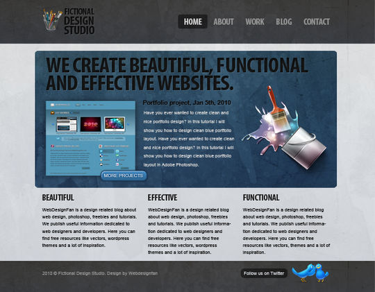 15 Easy-to-Follow Photoshop To HTML/CSS Tutorials 10