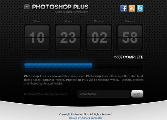 15 Easy-to-Follow Photoshop To HTML/CSS Tutorials 3