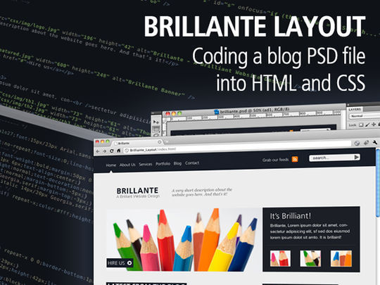 15 Easy-to-Follow Photoshop To HTML/CSS Tutorials 91