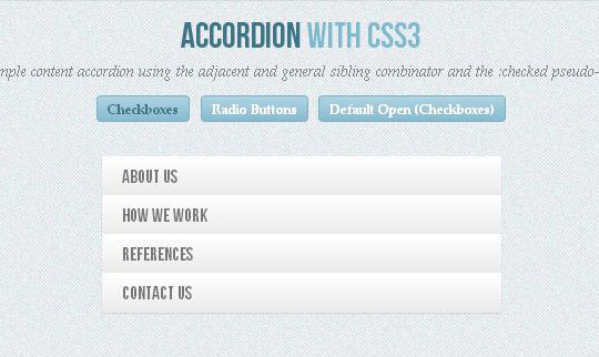 An Excellent Collection Of Pure CSS3 Tutorials & Examples 28