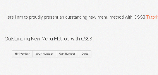 An Excellent Collection Of Pure CSS3 Tutorials & Examples 33
