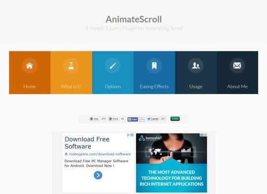 33 Enticing Scrolling Effects JQuery Plugins 2