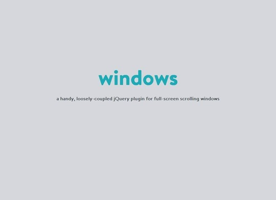 33 Enticing Scrolling Effects JQuery Plugins 11
