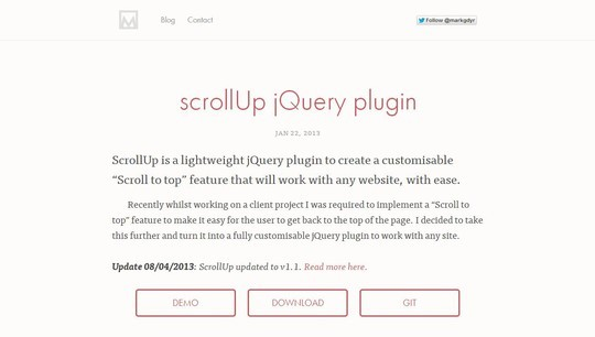 33 Enticing Scrolling Effects JQuery Plugins 9