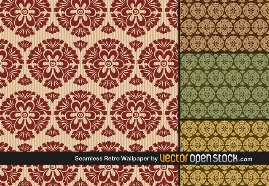 45+ High-Quality Free Vector Patterns 3