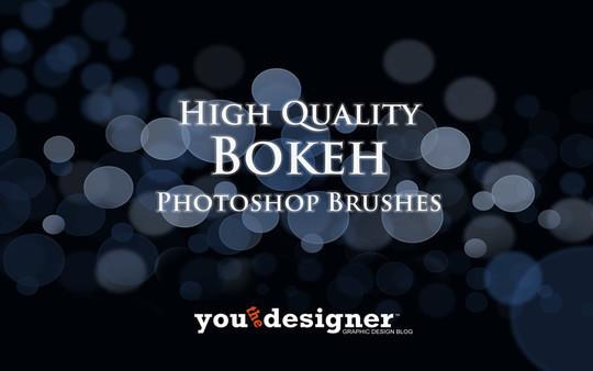 20 Amazing Photoshop Bokeh Effect Brushes 18