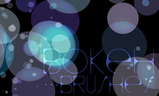20 Amazing Photoshop Bokeh Effect Brushes 19