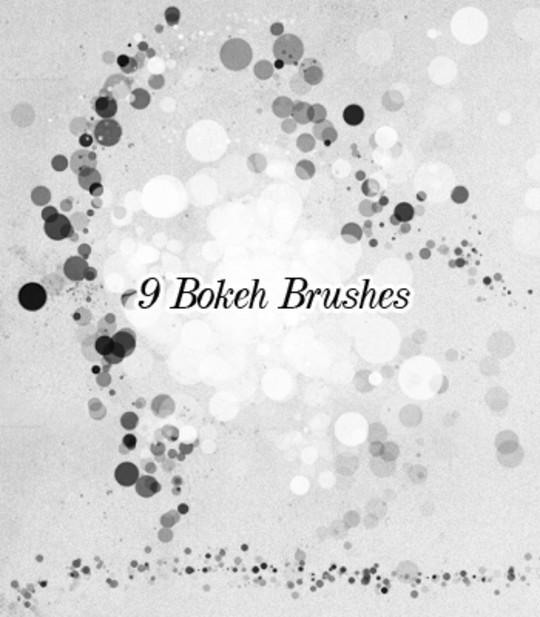 20 Amazing Photoshop Bokeh Effect Brushes 20