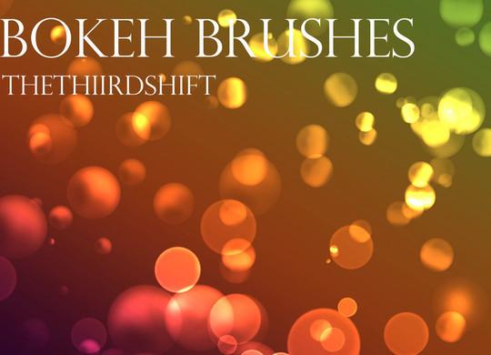 20 Amazing Photoshop Bokeh Effect Brushes 5