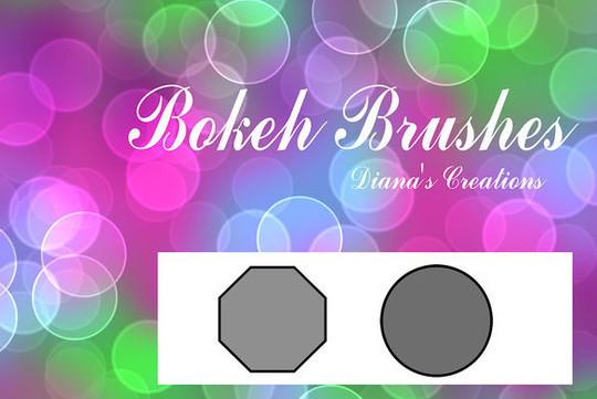 20 Amazing Photoshop Bokeh Effect Brushes 11