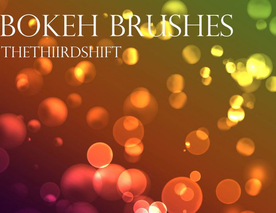 20 Amazing Photoshop Bokeh Effect Brushes 12