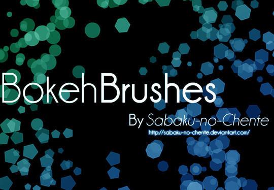 20 Amazing Photoshop Bokeh Effect Brushes 13