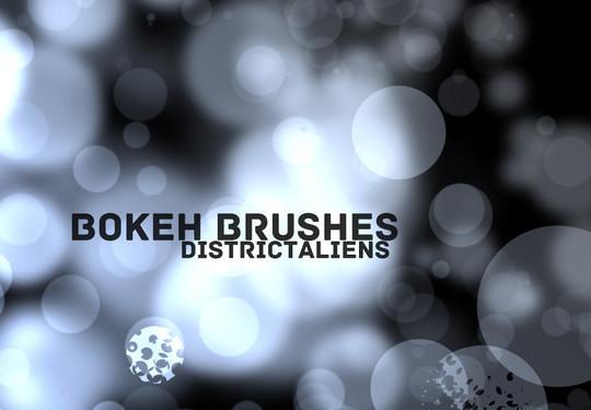 20 Amazing Photoshop Bokeh Effect Brushes 4