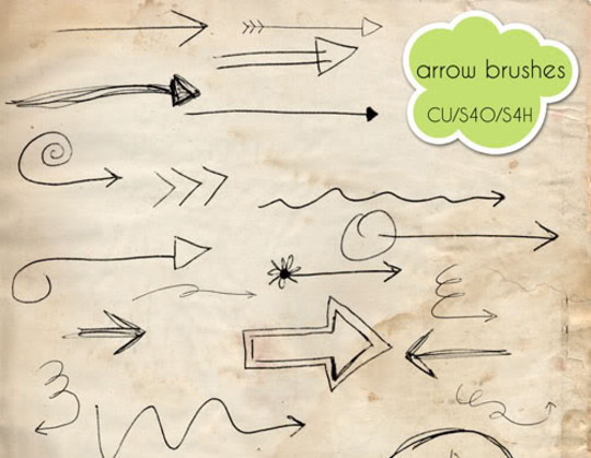 15 Photoshop Free Scribble and Doodle Brushes 14