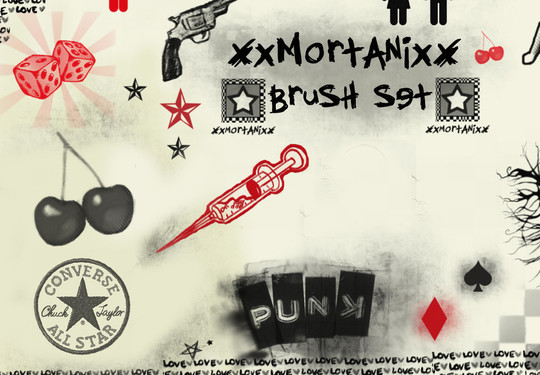 15 Photoshop Free Scribble and Doodle Brushes 6