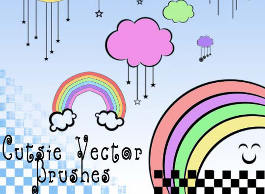 15 Photoshop Free Scribble and Doodle Brushes 7
