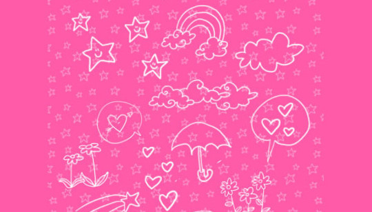 15 Photoshop Free Scribble and Doodle Brushes 8