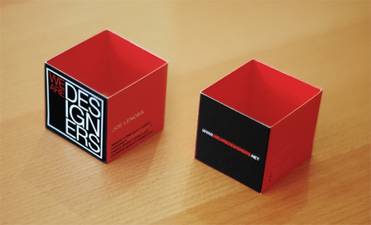 14 Amazing Folding Business Cards 15