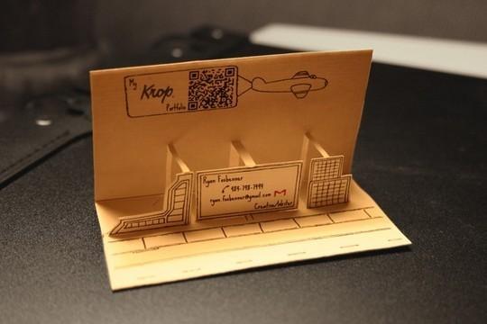 14 Amazing Folding Business Cards 45