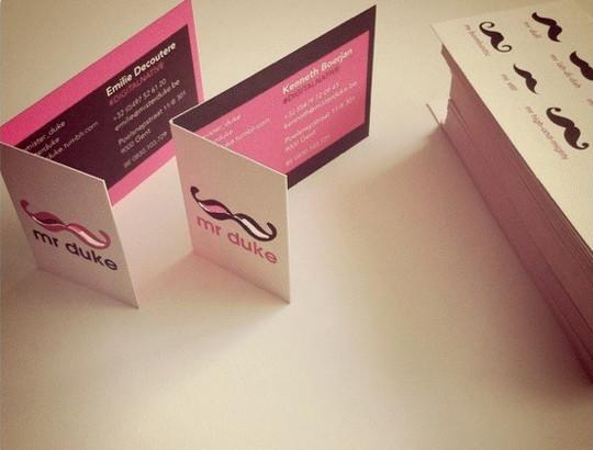 14 Amazing Folding Business Cards 8