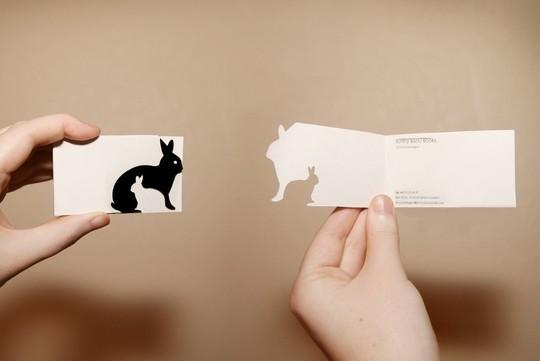 14 Amazing Folding Business Cards 9