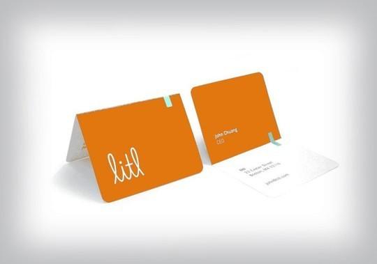 14 Amazing Folding Business Cards 10