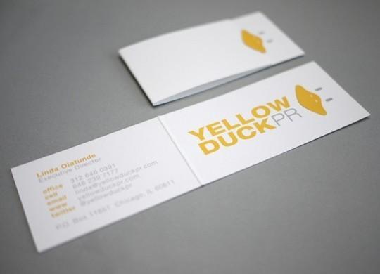 14 Amazing Folding Business Cards 11